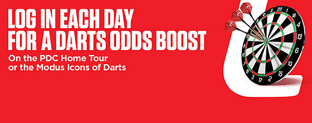 DT1 - Darts Odds Boost Modus PDC