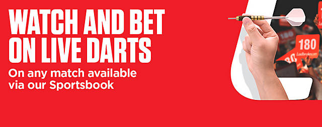 DT2 - Watch & Bet - Darts