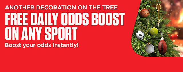 ALL3 - Festive - Daily Odds Boost