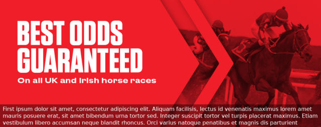 Horse Racing Best Odds Guaranteed